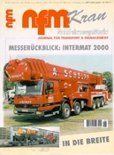 Mit Einhandsicherheits-lascheNFM-Kran SA 3 Juni 2000