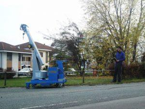 GB750 Mini Crane
